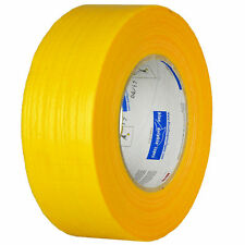 Textile Concrete and Mauerband 48mm x 50m Tape Yellow Stone Band Strong Adhesive