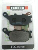 Plaquettes de frein arrière Organique FERODO 754EF Kawasaki Z 750 2007 à 2013