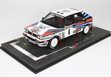 Lancia Delta Hf Martini 8V #4 Winner Rally Montecarlo 1989 BBR 1:18 BBRC1838B Mi