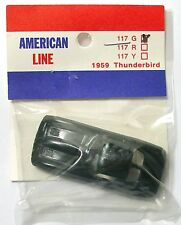 1990 American Line 1963 Chevy Corvette T-jet Thunderjet mount Slot Car BODY 118G