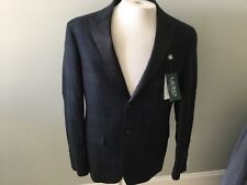 Ralph's Lauren Evening Jacket Sports Coat 38 Short Navy Blue Green New Wool Macy