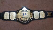 WWF Classic Gold Winged Eagle Championship Belt Adult Size