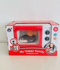 Kitchen tools Microwave red/white Oven Toy for Kids,Electronic Kitchen Play Set