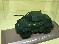 HUMBER ARMOURED CAR MK IV MILITAIRE ATLAS 1:43