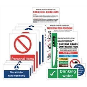 Food Hygiene Signs Prep Pack