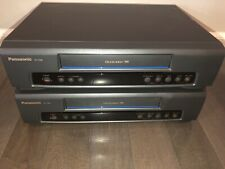 2 (or 1) Vintage Panasonic VCR PV-7200 Omnivision VHS Video Cassette Recorders