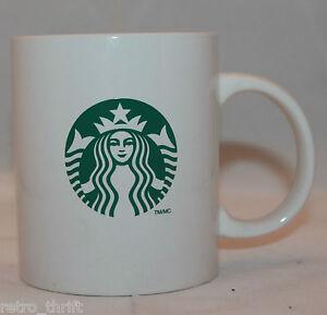 Starbucks Coffee 2012 White Green Coffee Tea Mug Cup 295 ml 10 oz Mermaid Logo