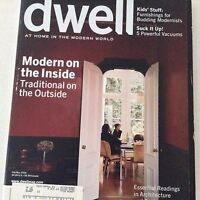 Dwell Magazine Modern On The Inside Traditional Out Feb/March 2006 070917nonrh