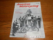 JULY 1966 AMERICAN MOTORCYCLING MAGAZINE Vol. 20 No. 7, 56 Pages