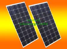 Solarpanel 12V Solarmodul Solarzelle Polykristallin 12 Volt 150 Watt WOMO 150 W