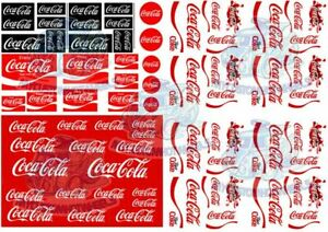 Coca Cola Decals   Coke transfers for model cars in all scales 1:64 up to 1:18