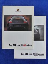 Porsche 911 Millennium Edition - Typ 996 - Prospekt + Preisliste 09.1999