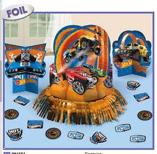 Hot Wheels WILD RACER Table Decorating Kit Boys Birthday Party  ~ Cars