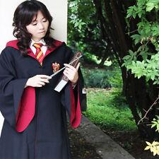 Boy Kid Children Harry Potter Gryffindor Hogwarts Long Costume Robe Cloak