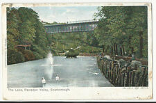 Yorkshire - Scarborough, The Lake, Ramsden Valley - Postcard sent 1903