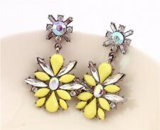 Wedding  Jewelry Cubic Zirconia Engagement Initial Dangles Chandelier Earrings