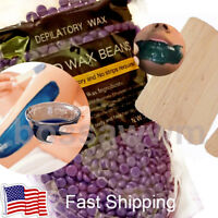 Hard Wax Beads Beans Waxing Hair Removal Hot Film No Strip Depilatory US SELLER