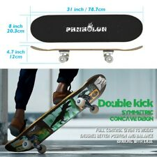"""New listing Skateboards for Beginners, 31""""x8"""" Complete Skateboard for Kids Teens & Adults_Us"""
