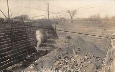 F67/ Grafton Ohio RPPC Postcard 1908 Stone Quarry Leiter Occupational