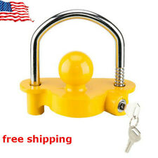 """Trailer Anti-Theft Device Universal Coupler Security Lock For1-7/8"""", 2"""", 2-5/16"""""""