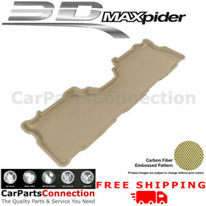 All Weather Floor Mats L1TY16221502 For Toyota Prius V 12-15 KAGU Tan Maxpider