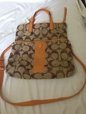 coach two-way sling & tote bag