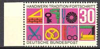 553 postfrisch Rand links BRD Bund Deutschland Briefmarke Jahrgang 1968