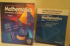 Mcdougal Littell Course 2 Mathematics KEY Concepts 7th Grade 7 TEXT WORKBOOK GD