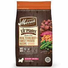 Merrick Lil Plates Grain Free Small Breed Beef & Sweet Potato w/ Probiotics Dog