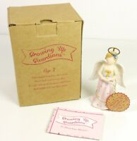 Faithful Guardians Growing Up Guardians Angel Figurine Age 7 New Old Store Stock