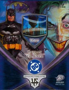 Dc Vs System First Edition Batman VS The Joker Starter Pack New Sealed