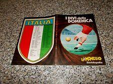 ALBUM I DIVI DELLA DOMENICA IL MONELLO COMPLETO(-2 FIGURINE)...CALCIATORI PANINI