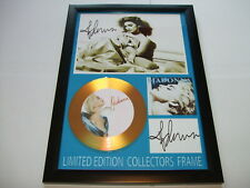 MADONNA   SIGNED GOLD CD   DISC   NEW 2