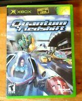 Quantum Redshift Video Game Original Xbox Case & Disc Only