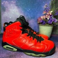Nike Air Jordan Retro 6 Infrared 23 GS Toro US Youth 7Y [384665 623]