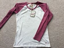 Girls Top T Shirt M&S Angel Collection Long Sleeve Large (15 Years) Worth £12