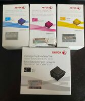 Xerox Colorqube 8570 Ink Cartridge Bundle - Black, Cyan, Magenta, Yellow - New