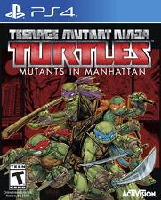 New Sony PS4 Games Teenage Mutant Ninja Turtles Mutants in Manhattan Eng Version