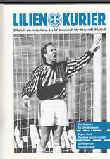 II. BL 91/92 SV Darmstadt 98 - Hallescher FC, 22.09.1991