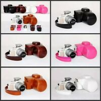 Leather case bag grip for For Olympus PEN E-PL9 EPL9 camera w/ 14-42mm IIR lens