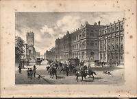 1875 London Stampa ~ Nuovo Treasury Buildings