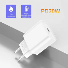 20W PD USB-C Type C Fast Wall Charger Adapter For iPhone 12 Pro Max EU/US Plug