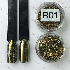 Chameleon Flakes Nail Mirror Effect Multi Chrome Ultra Fine R-01 Flake sequins