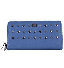 Dolce & Gabbana unisex portafoglio portafogli da DAUPHINE Pelle Blu 04752