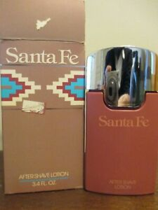 Santa Fe For Men After Shave lotion 3.4 Oz. By shulton 1988