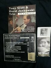 TONY SCOTT & HORST JANKOWSKI TRIO - IN CONCERT -  CD