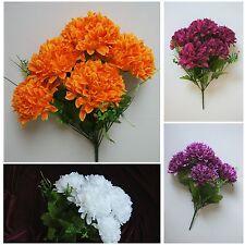 Chrysanthemen Strauß Künstliche Blumen gestekt Tischdeko Blume Dekoration Q241