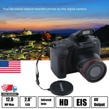 Digital SLR Camera 3 Inch TFT LCD Screen HD 16MP 1080P 16X Zoom Anti-shake US