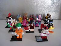 Lego 71017 + 71020 The Batman Movie Minifiguren zum aussuchen - Neu & unbespielt