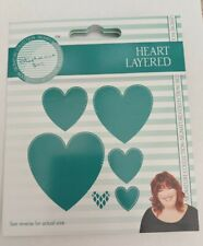 Tattered Lace Stephanie's Signature Collection HEART LAYERED cutting die 477642